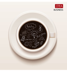 idea business from take a break vector image