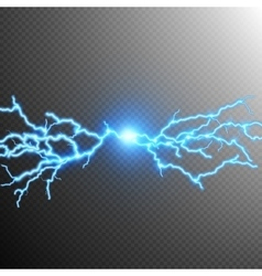 Abstract lightning storm background EPS 10 vector image