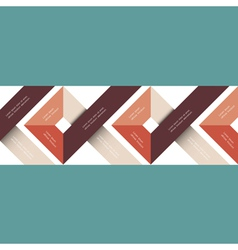 Abstract geometric design vector image vector image