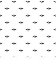 airborne pattern seamless vector image
