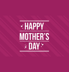 Background mother day greeting card vector