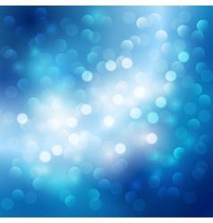 Blue light background vector image