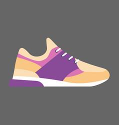 Modern sneaker for everyday wear vector