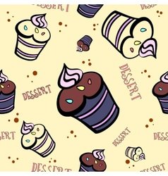 MuffinCard3 vector image