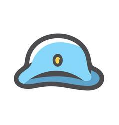 napoleon bonaparte hat icon cartoon vector image