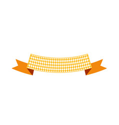 Oktoberfest simple ribbon for banner and headline vector