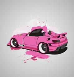 Pink S2000 vector