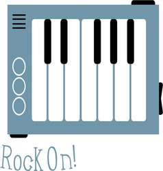 Rock On vector