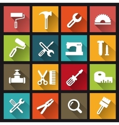 Computer icons tools vector image vector image