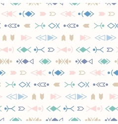 Tribal Seamless Pattern Background vector image vector image
