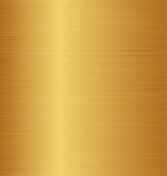Golden metal texture copper brass bronze vector image