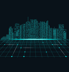 matrix preview vector image