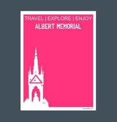albert memorial belfast england monument vector image