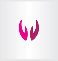 Applause hands logo icon symbol vector