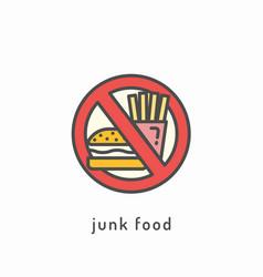 Healthy diet icon vector