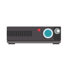 projector video cinema movie icon film camera vector image