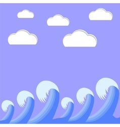 Sea Weaves vector image