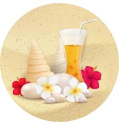 summer juice vector image