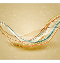 vintage geometric vector image
