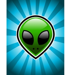 Alien Head vector