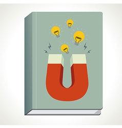 Book Magnet vector