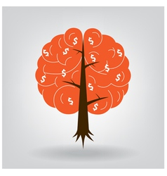 Brain tree vector