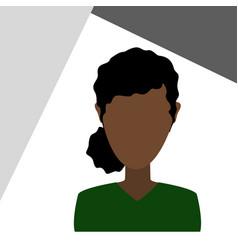 female user profile icon vector image