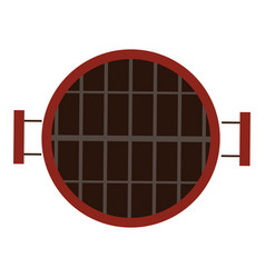 Isolated grill icon vector