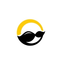 Mustache sign vector image