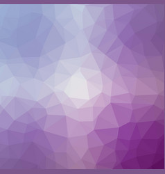 Polygonal background in lilac and mulburry purple vector