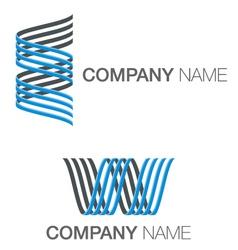 Spiral logo concept vector