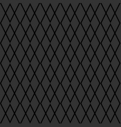Tile grey and black pattern for wallpaper vector
