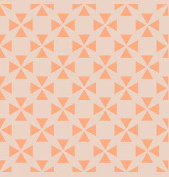 Tile pattern with orange background vector