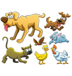 Animals Collection vector image vector image