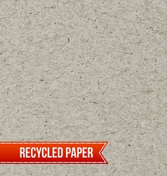 Recycle paper texture vector image vector image