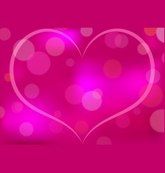abstract heart patterned background vector image