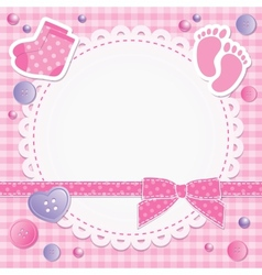 Baby frame vector