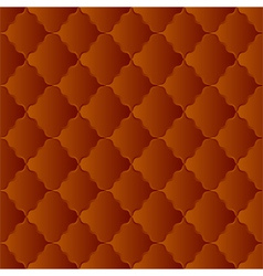brown pattern vector image