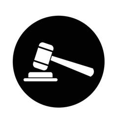 gavel icon design vector image