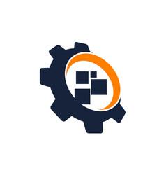 Gear app software vector