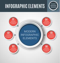 infographic element set5 vector image