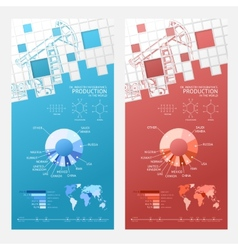 Oil infographic design vector