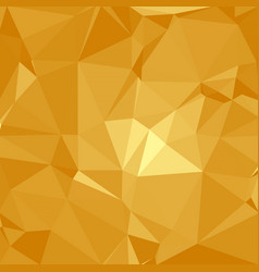 Shiny polygonal background in sunshine yellow vector