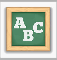 ABC Letters vector image vector image