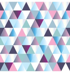 abstract triangle pattern vector image vector image