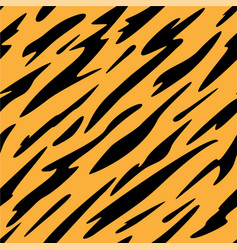 abstract black and orange stripes pattern vector image