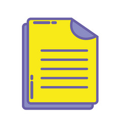 Business document business data archive vector
