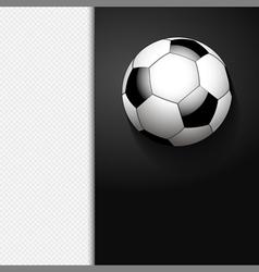 Football border background on white vector