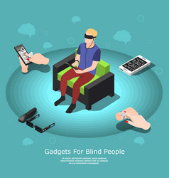Gadgets for blind composition vector