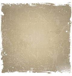 Grunge background with white border vector image vector image